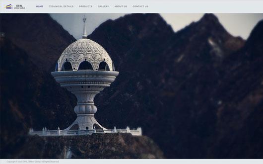طراحی وب سایت شرکت اوپال