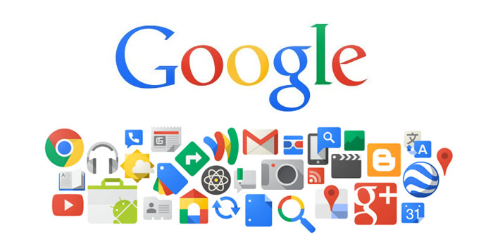 فهرست محصولات گوگل
